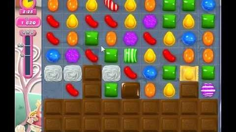 Candy Crush Saga Level 343 - 1 Star - no boosters