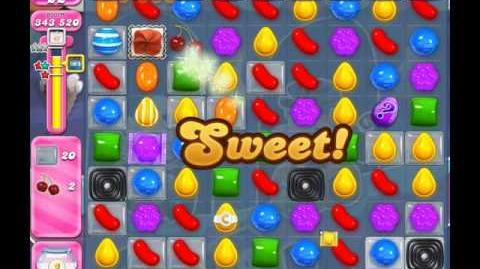 Candy Crush Saga Level 2052 ( New with 42 Moves and Fewer Ingredients ) No Boosters 3 Stars