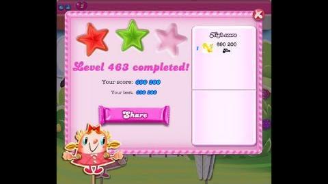 Candy Crush Saga Level 463 ★★ NO BOOSTER-0
