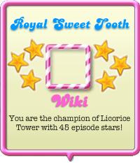 Royal Sweet Tooth