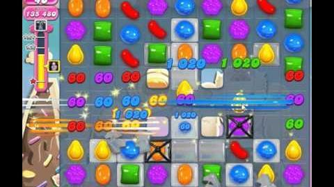 Candy crush saga level 50 No booster, 3 Stars
