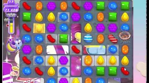 Candy Crush Dreamworld Level 414 3 stars NO Boosters 14 Moves left
