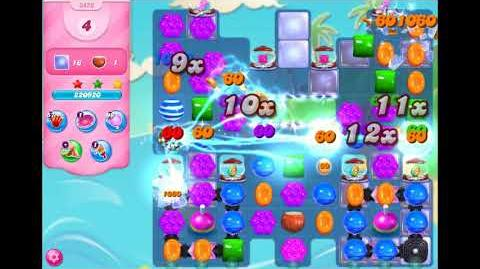 Candy Crush Saga - Level 3456 - No boosters ☆☆☆