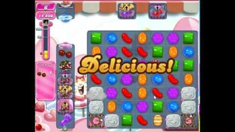 Candy crush saga level 1496 No booster