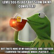 Kermet Tea meme