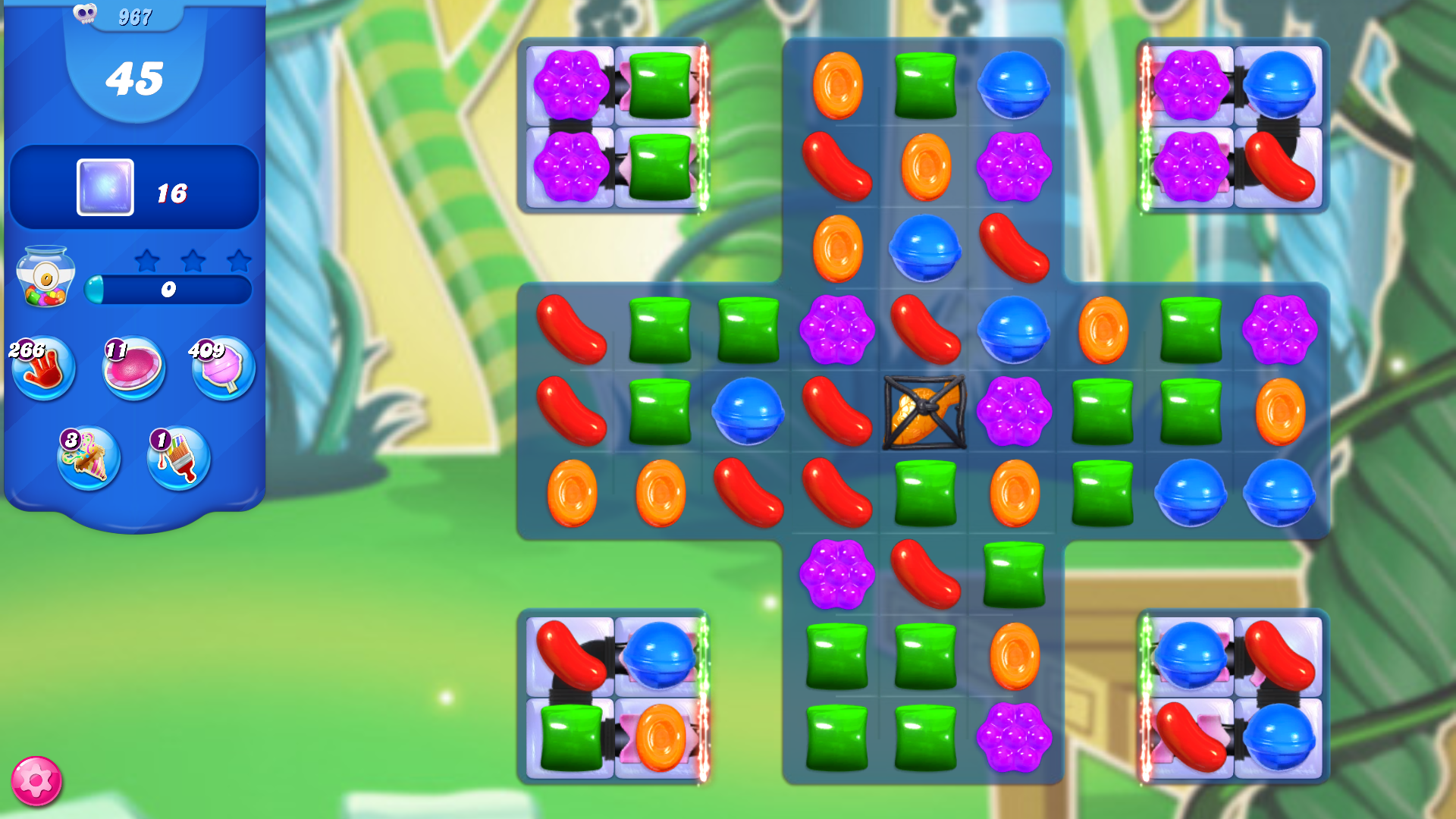 Candy Crush Saga Level 500 Please see my new video without booster, http://youtu.be/GCslqm8QLaI Candy Crush Saga Walkthrough playlist: http://goo.gl/mY6TT Fa...