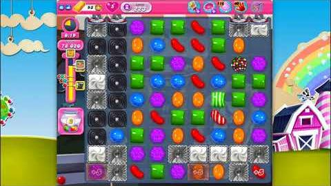 Candy Crush Saga - Level 223 - No boosters ☆☆☆