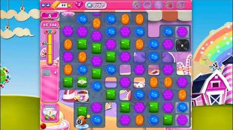 Candy Crush Saga - Level 2757 - No boosters ☆☆☆