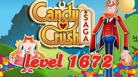 Candy Crush Saga Level 1672