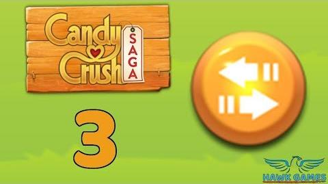 Candy Crush Saga 🎪 Level 3 (Moves level) - 3 Stars Walkthrough, No Boosters