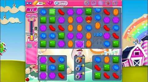 Candy Crush Saga - Level 340 - No boosters ☆☆☆