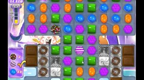 Candy Crush Saga Dreamworld Level 512 (Traumwelt)