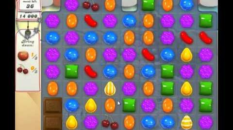 Candy Crush Saga Level 164 - 3 Star - no boosters