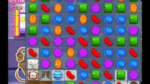 Candy Crush Saga Level 1268 - YOLO SOLUTION )