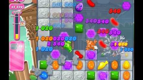 Candy Crush Saga Level 1421 ( New with 35 Moves and Mystery Candies ) No Boosters 1 Star