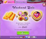 Weekend Sale 150625 Show Offer