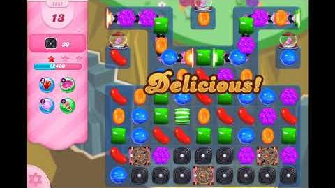 Candy Crush Saga - Level 2852 - No boosters ☆☆☆