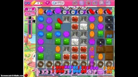 Candy Crush Saga 603 Walkthrough No Booster