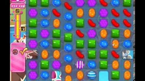 Candy Crush Saga Level 135 newest edition 3 stars NO BOOSTERS