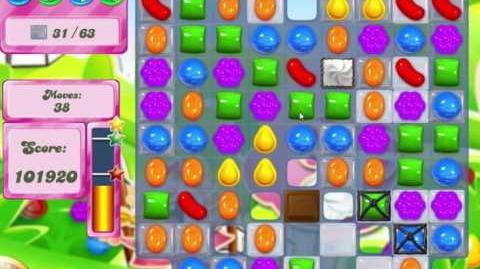 Candy Crush Saga Level 461 Clear all the Jelly!