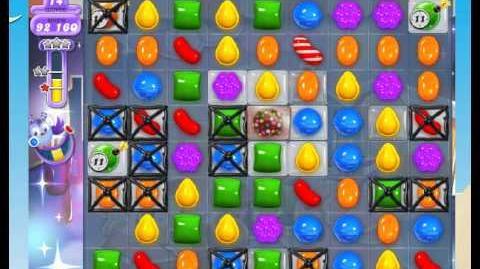 Candy Crush Saga - DreamWorld level 446 (No Boosters)