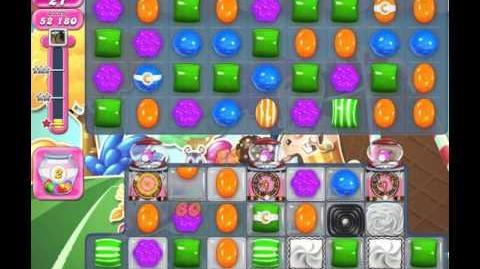 Candy Crush Saga Level 1434 (No booster, 3 Stars)