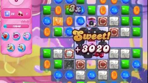 Candy Crush Saga Level 3113 NO BOOSTERS (10 moves)