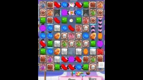 Candy Crush Level 1280 First Mobile Version