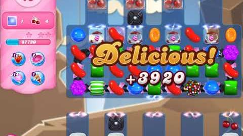Candy Crush Level 2621 (no boosters)