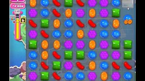 Candy Crush Saga Level 58 - 3 Star - no boosters