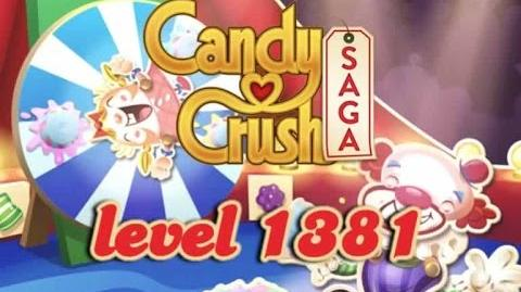 Candy Crush Saga Level 1381