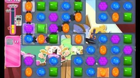 Candy Crush Saga Level 1897 Extreme Hard Level NO BOOSTER (13-moves Version)