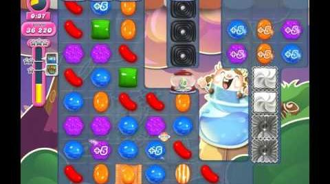 Candy Crush Saga Level 1753 ( New with Extra Time Candy Cannon ) No Boosters 1 Star