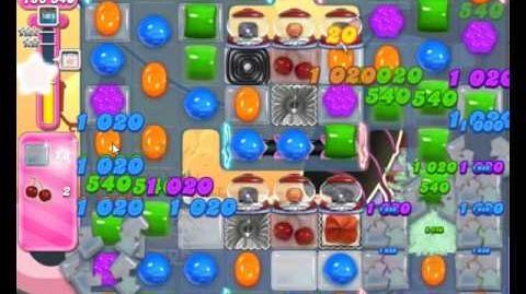 Candy Crush Saga Level 1844 Hard Level NO BOOSTER (2nd Version)