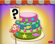 A cake in the middle of where
