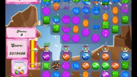 Candy Crush Saga Level 2156 NO BOOSTER (2nd Version - 16 moves)