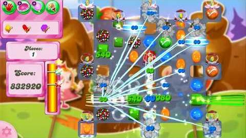Candy Crush Saga Level 2605 NO BOOSTERS (glitched level)