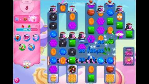 Candy Crush Saga - Level 3511 - No boosters ☆☆☆