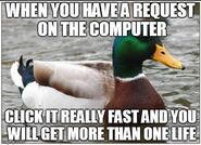 Click fast