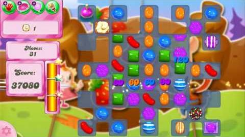 Candy Crush Saga Level 2607 NO BOOSTERS