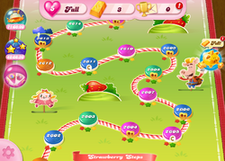 Strawberry Steps HTML5 Map