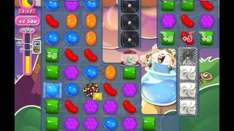 Candy Crush Saga Level 1753 ( New with More Extra Time Candy Cannons ) No Boosters 2 Stars