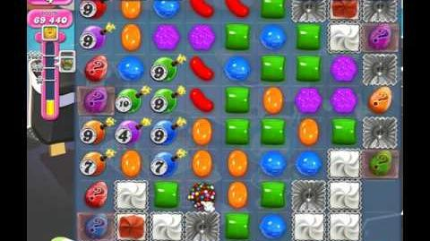 Candy Crush Saga Level 1866 ( New with 20 Moves ) No Boosters 3 Stars