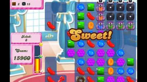 Candy Crush Saga Level 2659 New Version Hard level