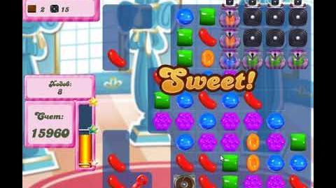 Candy Crush Saga Level 2659 New Version Hard level