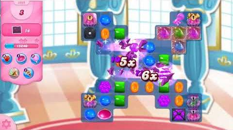 Candy Crush Saga Level 2989 NO BOOSTERS (12 moves)
