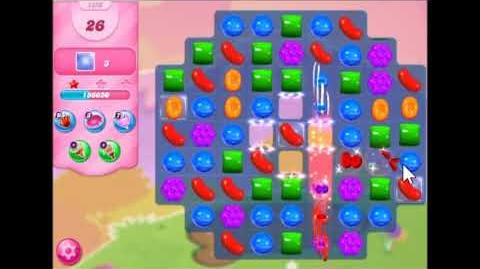 Candy Crush Saga Level 1350 Walkthrough No Booster, 2 stars