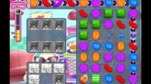 Candy Crush Saga Level 1451 (No booster, 3 Stars)