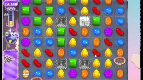 Candy Crush Level 412 Dreamworld, No Boosters, 3 stars