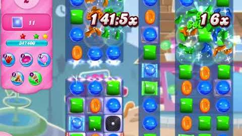 Candy Crush Saga Level 2941 NO BOOSTERS (10 moves)